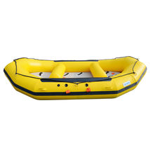 BRIS 1.2mm 12ft Inflatable White Water River Raft Inflatable Boat FloatingTubes image 3