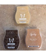 Scentsy Wax Melts Cubes LOT New Dessert Scents Scentsy Lot - $34.99