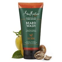 Shea Moisture Maracuja oil & shea butter beard wash, 6 Fluid Ounce image 3