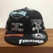 NEW ERA THRASHER Collaboration 59FIFTY Skateboard Cap Baseball cap 7 1/4  - $110.00