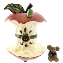 "Boyds Treasure Box ""Bailey's Apple w/Cortland Mcnibble"" #4029453- 1E- NIB - $22.99"