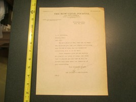 Muscatine Iowa IA Muscatine Journal 1919 Letterhead 806 - $10.99