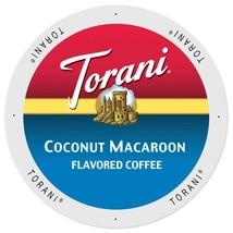 Torani Coconut Macaroon Coffee 24 to 144 Keurig Kcup Pick Any Size FREE SHIPPING - $49.98+