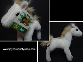 "Wild Republic White Mini Foal Pony Plush 8"" NWT Stuffed Animal Free Shipping - $8.99"