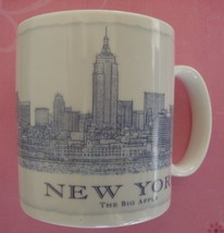 Starbucks 2007 NEW YORK The Big Apple  Architecture Coffee Cup Mug 18oz - $11.83