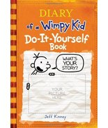 Diary of a Wimpy Kid Do-It-Yourself Book [Hardcover] [Oct 01, 2008] Kinney, Jeff - $2.95