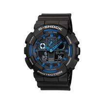 NEW Casio G-Shock GA100-1A2 Speed Indicator Black Dial Men's Watch - $112.20