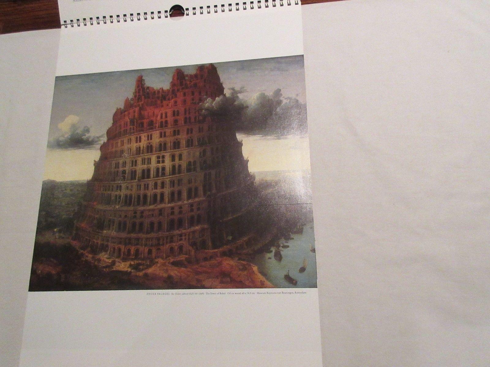 Rx , Pharmacy , Calendar , Hoechst-Roussel Pharmaceuticals Inc.,1987 , Vintage image 2