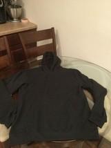 NWOT Men's Reebok Black Blank Hoodie Sweatshirt Medium New Without Tags - $15.14