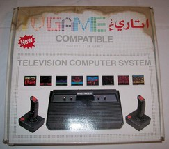 TV Games Atari 2600 Clone legendary TV console 9001 Games #01 - $153.00