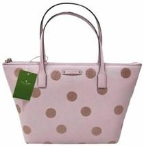 Kate Spade Hani Haven Lane phink Glitter Strap Tote Bag WKRU4119 NWT - $98.99