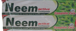 2 Pack  200gram Neem Advance Herbal Toothpaste 100% Vegetarian  - $10.00