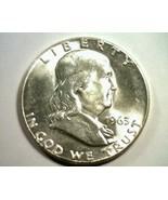 1963 FRANKLIN HALF DOLLAR NICE UNCIRCULATED NICE UNC. NICE ORIGINAL COIN - $17.00