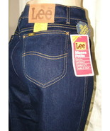 VTG Lee Riders Sz 14 Pet Woman Blue Jean NOS High Waist Made In USA Mom ... - $74.99