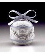 Lladro Christmas Ball Ornament Dated 2000 - $49.99