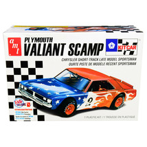Skill 2 Model Kit Plymouth Valiant Scamp Kit Car 1/25 Scale Model by AMT... - $51.97