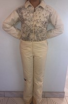 Vintage Benning Ski Snow Suit Italy Adult XS Youth 14 Soccer Brawl  (43) - $77.35