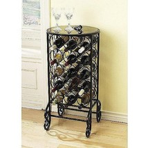Glass Top Wine Table  - $62.01