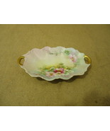 D & C Limoges Vintage Dish 8in L x 5in W x 1in H Multicolor Floral China - $87.88