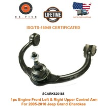 1pc Front Left & Right Upper  Control Arm For 2005 - 2010 Jeep Grand Cherokee - $69.07