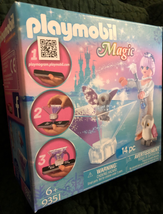 Playmobil Ice Flower Princess with Owl 9351 Hologram Effect - $12.86