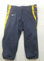 Nike Football Pants Mens Large Navy Blue Yellow - $44.99