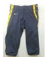 Nike Football Pants Mens Large Navy Blue Yellow - $44.99
