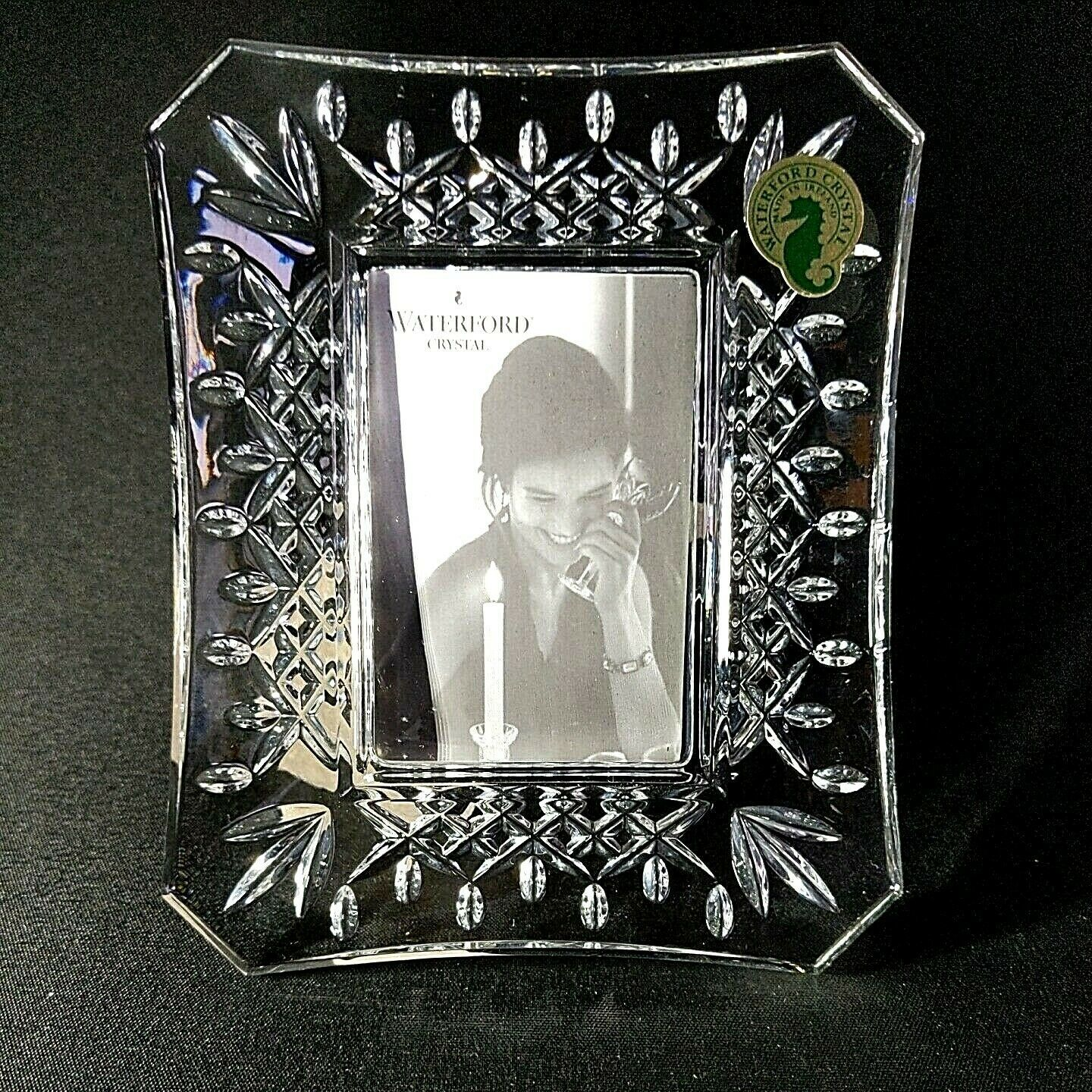 Primary image for 1 (One) WATERFORD LISMORE Cut Lead Crystal 2x3 Frame Made in Ireland D/C-Signed