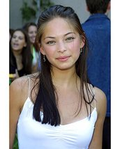 Kristin Kreuk Color 16x20 Canvas Giclee - $69.99