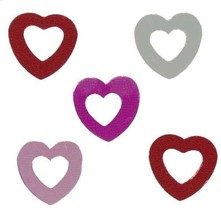 Confetti Heart Cut Out Endless Love Mix - $1.81 per 1/2 oz. FREE SHIP - $3.95+