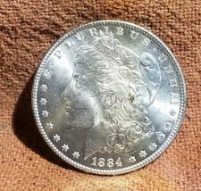 1884 BU Brilliant Uncirculated Morgan Silver Dollar - $48.00