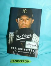 The Closer : My Story by Mariano Rivera 2014, Hardcover Signed Autographed FE - $138.59