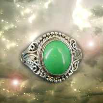Haunted RING HALLOWEEN FORTUNE TELLER'S PREDICTS WINS FORTUNES SAMHAIN M... - $333.33
