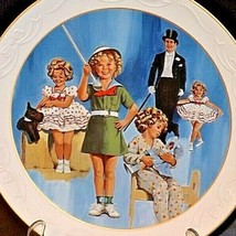 """The Shirley Temple Classics Commemorative Plate """"Stand Up and Cheer"""" AA20- CP227"""