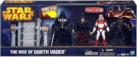 Star Wars 2013 Exclusive Action Figure 4-Pack Rise of Darth Vader - $107.60