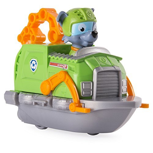Paw Patrol Rescue Racers, Rockys Boat