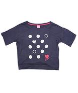 Jenni Short Sleeve Hearts & Dots Pajama Top T-Shirt in Medium - $16.82
