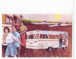 Winnebago Sales Brochure, 1969 Friends 24x24 Inch   Ready to ship now - $18.99