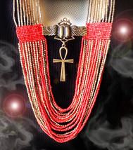 HAUNTED ANKH NECKLACE 15,000X ETERNAL LIGHT EXTREME MAGICK MYSTICAL TREASURE - $474.77
