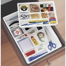 Compartment Drawer Organizer Sewing Craft Silverware Jewelry Countertop ... - $28.33