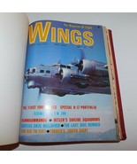 WINGS Flight Magazines Hardbound 1971 - 1974 Jets, Aircraft, Bombers, Av... - $43.35