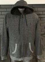 Element Jacket Lined Hooded Zip Front Heather Gray Men's XL - $19.99