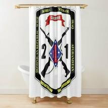 USMC 2nd Battalion 1st Marines Division Shower Curtain - $98.99