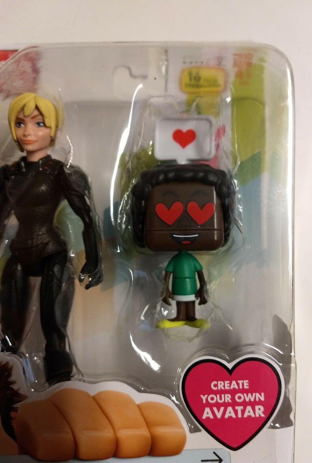 "2018 Walt Disney Wreck It Ralph 2 Calhoun 4"" avatar sealed toy figure Fast Ship image 2"