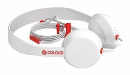 Coloud Knock Blocks White/Red Headphones image 1