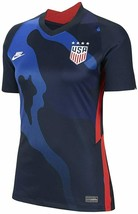 Nike USA Soccer Women's S or L 2020 Breathe Stadium Away Jersey Blue Cam... - $54.99