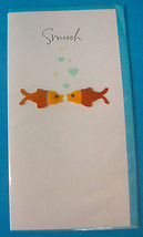 Single 3D Carlton Greeting Card Fish Smooch Simply Fabulous Design - $4.75