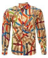 Cowboy Shirt Long Sleeve El General Camisa Vaquera Satin Beige - €27,42 EUR