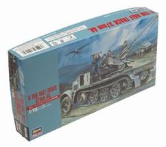 Hasegawa 1/72 Germany Army 8 T HT/37  Aa Gun Plastic Model MT 18 - $12.00