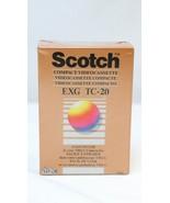 Scotch 3M EXG Extra High Grade TC-20 VHS-C Compact Videocassette 44 Minu... - $9.89